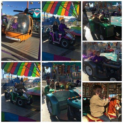 The Florida State Fair - Tampa Florida Kiddie Rides