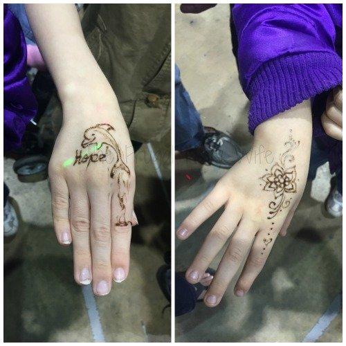 The Florida State Fair - Tampa Florida Kids henna tattos
