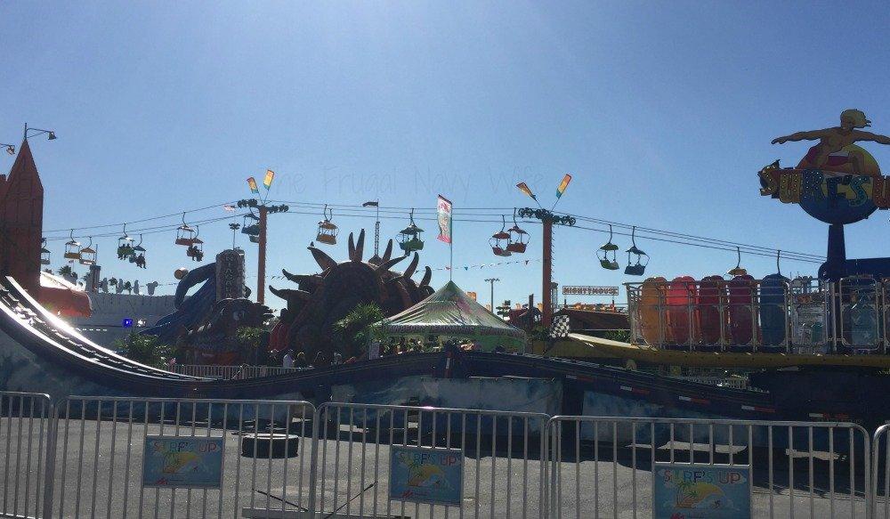 The Florida State Fair - Tampa Florida Skylift