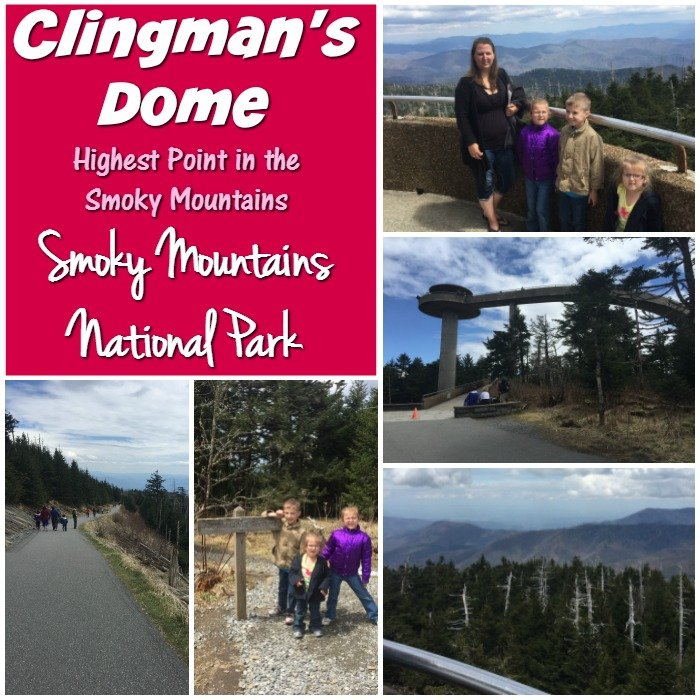 Clingman's Dome Smoky Mountains National Park
