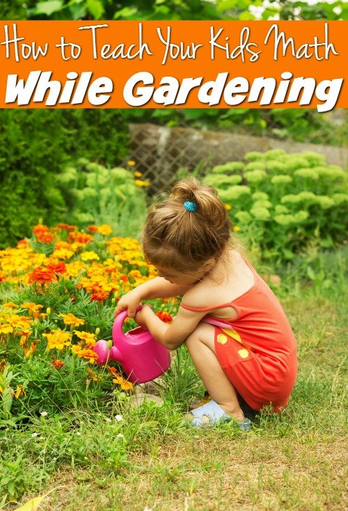How to Teach Math while Gardening