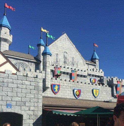LEGOLAND Amusement Park, Winter Haven Florida Castle