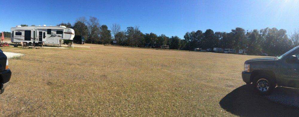 Red Gate Farm Campground Review Savannah, Georgia Circle