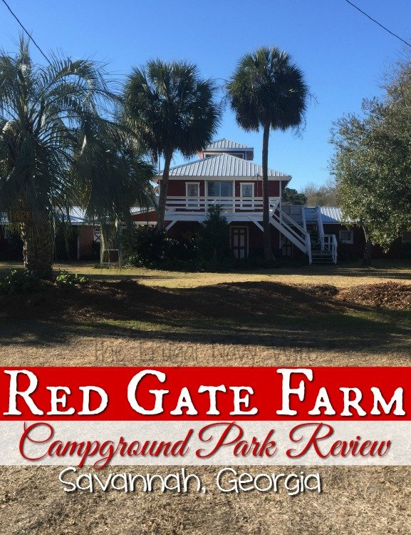 Red Gate Farm Campground Review Savannah, Georgia