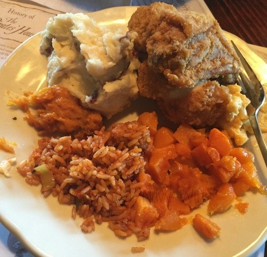 Touring Historic Downtown Savannah Georgia and Lunch at the Pirate House My Plate