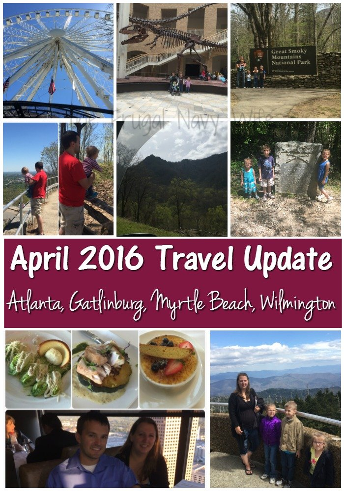 April 2016 Travel Update