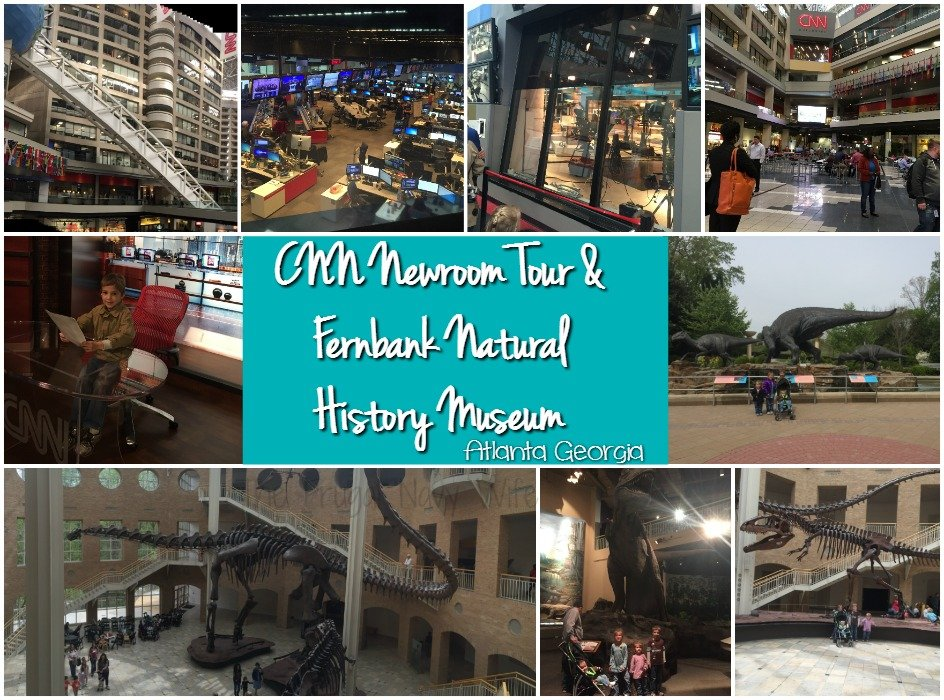 CNN Newsroom Tour Fernbak Natural history Museum