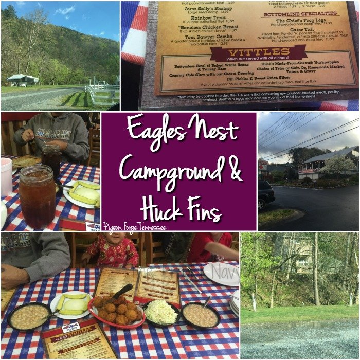 Eagles Nest Campground and Huck Fins