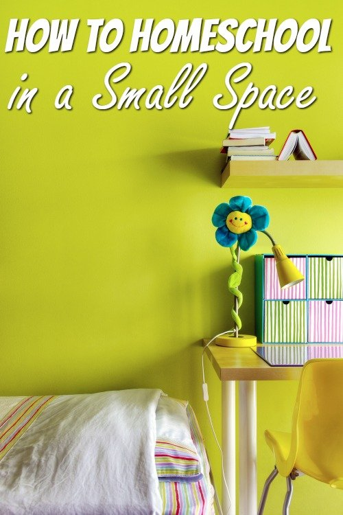 Homeschool Ideas - Homeschooling in a Small Space