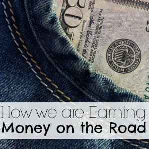How we are earning money on the road