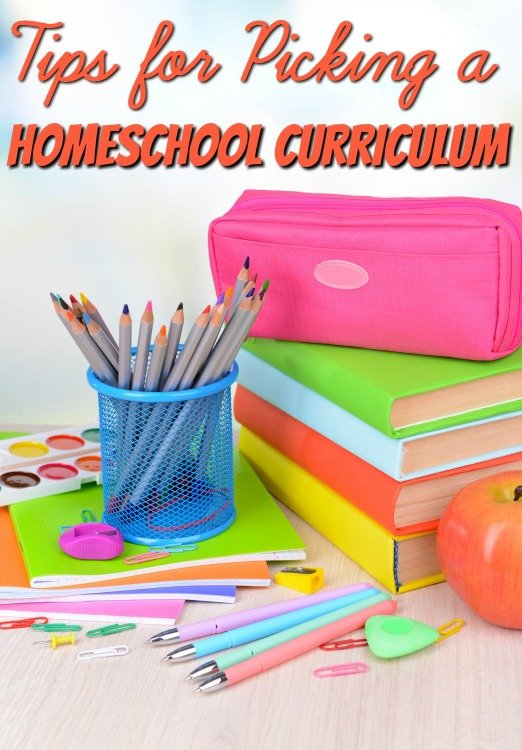 Tips for Picking the Perfect Homeschool Curriculum