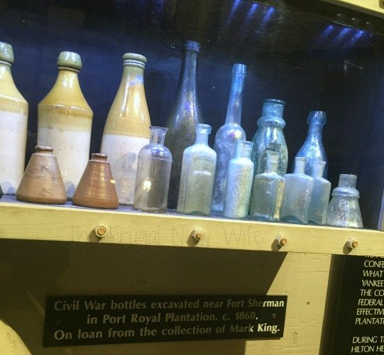 What to do When Visiting Hilton Head South Carolina Civil War Bottles