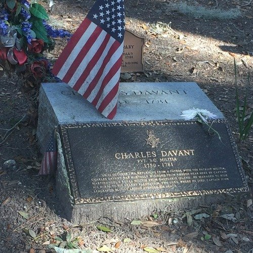 What to do When Visiting Hilton Head South Carolina Revolutionary War Grave