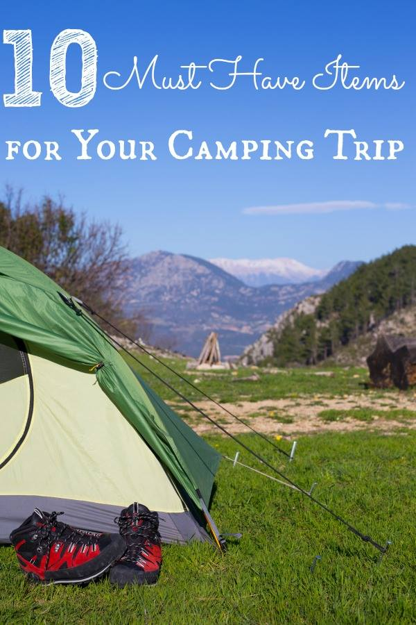 10 Things to Pack for Your Camping Trip