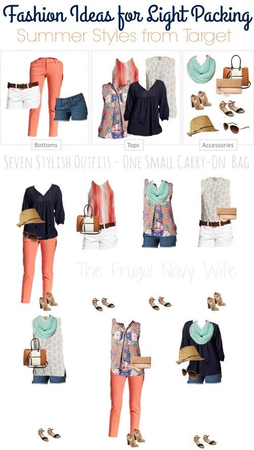 Ideas for Packing Light – Summer Styles from Target