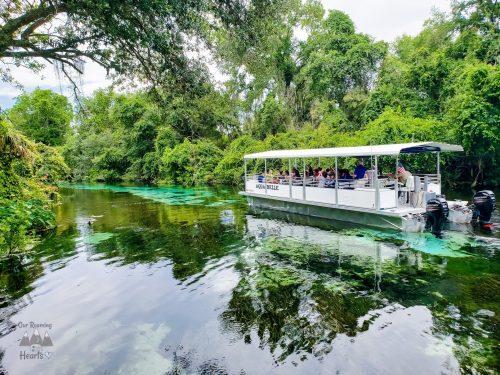 Weeki Wachee State Park Boat Ride
