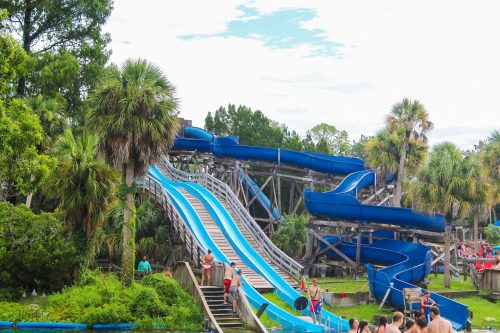Week Wachee State Park Water Slides