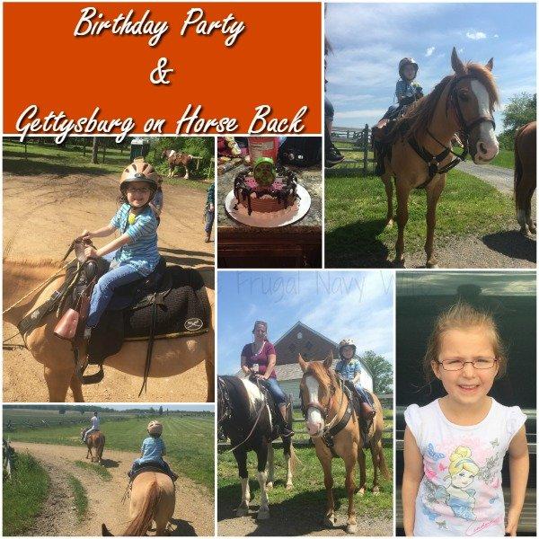 gettysburg on horseback