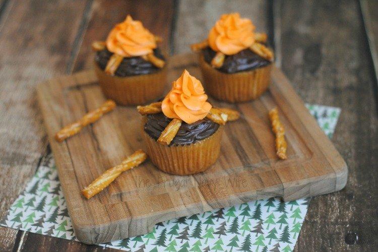Campfire Cupcakes - Homemade Chocolate Cupcake Recipe 2