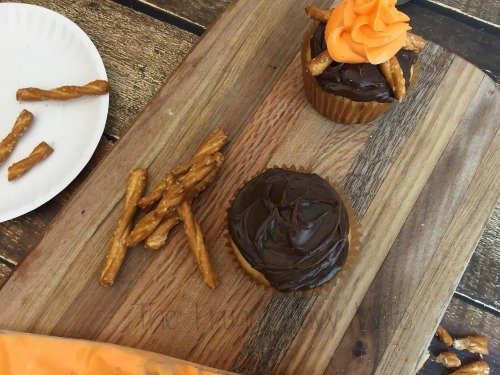 Campfire Cupcakes - Homemade Chocolate Cupcake Recipe Step 1