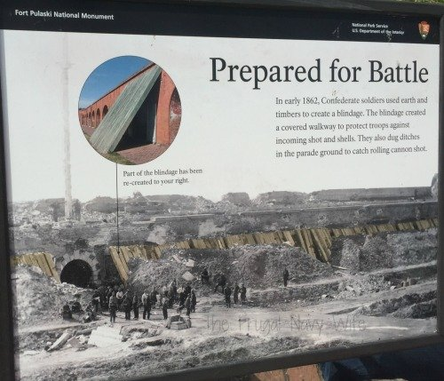Fort Pulaski Blindage