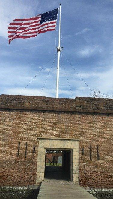 Fort Pulaski Drawbridge