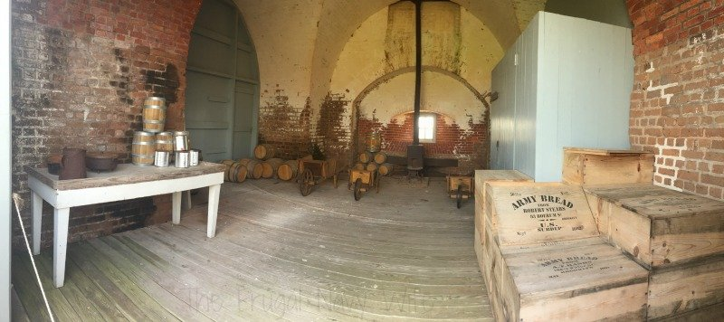 Fort Pulaski Food Storage