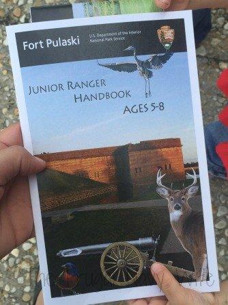 Fort Pulaski Jr Ranger