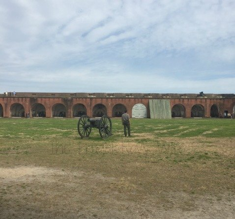 Fort Pulaski Parade Grounds
