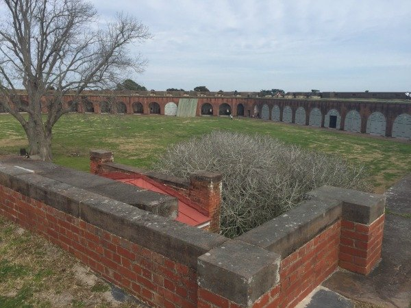 Fort Pulaski View from the Top