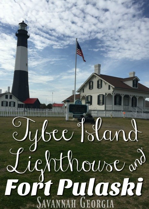 Fort Pulaski and Tybee Island Lighthouse