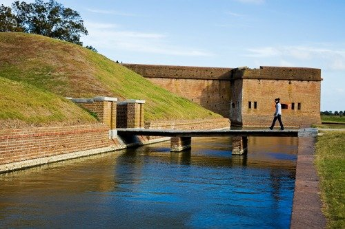Fort Pulaski in Georgia