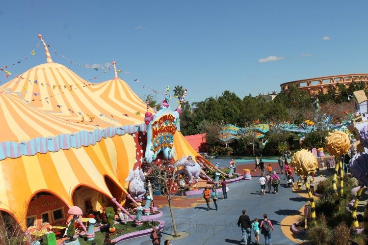 Make the Most Out of a Family Trip to Universal Studios Islands of Adventure Theme Park Seuss Landing