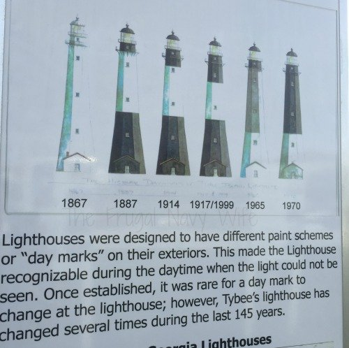 Tybee Lighthouse Colors