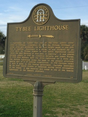 Tybee Lighthouse Sign