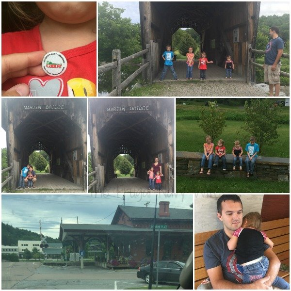 Cabot Cheese Green Mountain Coffee Covered Bridge