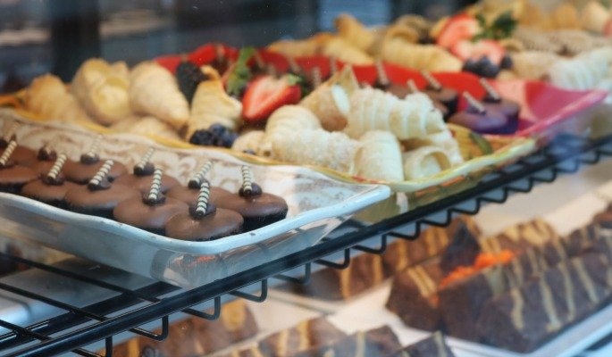 Gaylord Palms Hotel in Orlando Florida Desserts