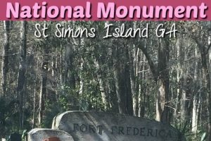 Fort Frederica National Monument – St Simons Island GA