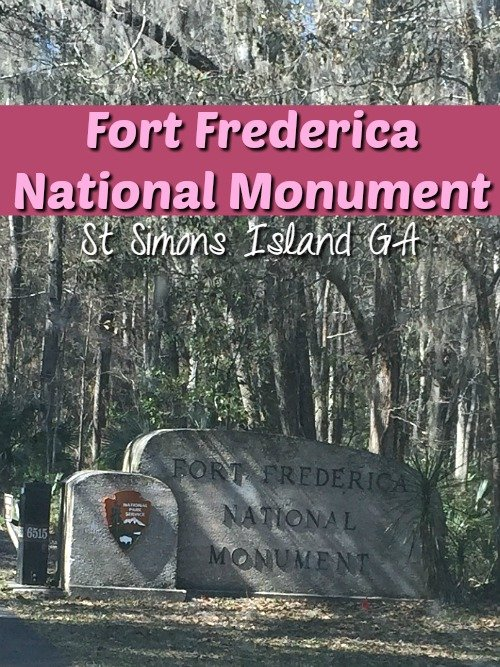 Fort Frederica National Monument was built in 1736 and holds so much history! Located in St Simons Island GA this was one of our favorite JR Ranger Programs
