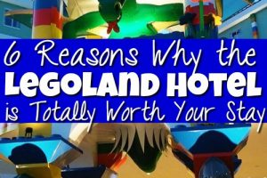 Heading to Legoland and not sure if the Legoland Hotel is worth your money? These 6 reasons (& pictures) will convince you to stay at the Legoland Resort.