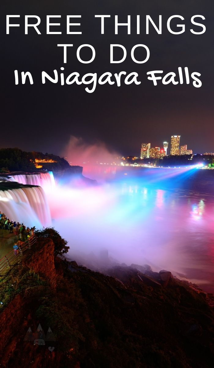 There are 20 free things to do in Niagara Falls New York. This is one of the most beautiful places are Earth but it shouldn't break the bank! #niagarafalls #thingstodo #freethingstogo #newyork #travel #ourraminghearts | New York Travel | Niagara Falls | Things to do in New York | Free things to do |
