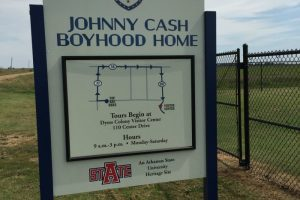 Johnny Cash Boyhood Home in the Historic Dyess Colony