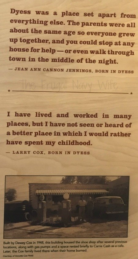 While in Arkansas or even Memphis you should visit the Johnny Cash boyhood home and the historic Dyess Colony to learn history no in your history book!