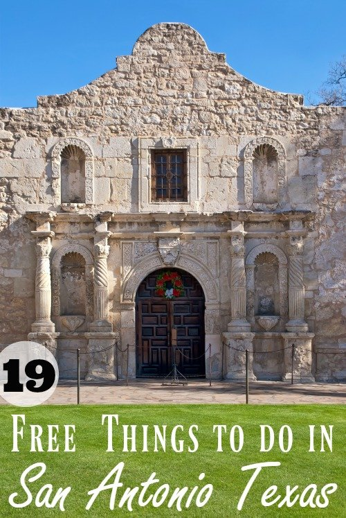 There is so much history to see in southern Texas but that doesn't mean you have to spend a bundle to experience it! Here are 19 free things to do in San Antonio Texas.