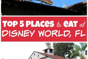 Top 5 Disney Restaurants For The Best Disney Dining