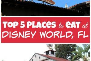Top 5 Disney Restaurants For The Best Disney Dining