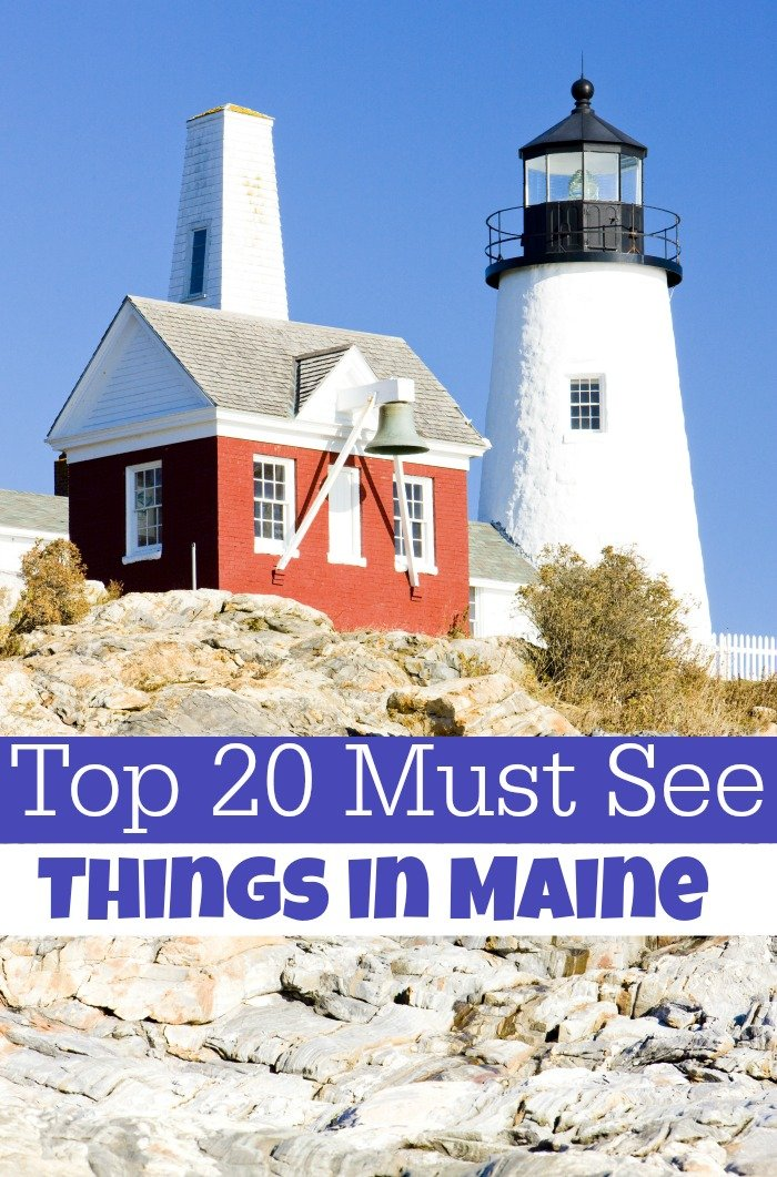 If you are planning a trip I highly suggest Maine! Here are 20 things to do in Maine that you do not want to miss! Check out these Maine attractions!