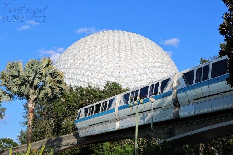 Epcot Center, Spaceship Earth, Orlando Florida