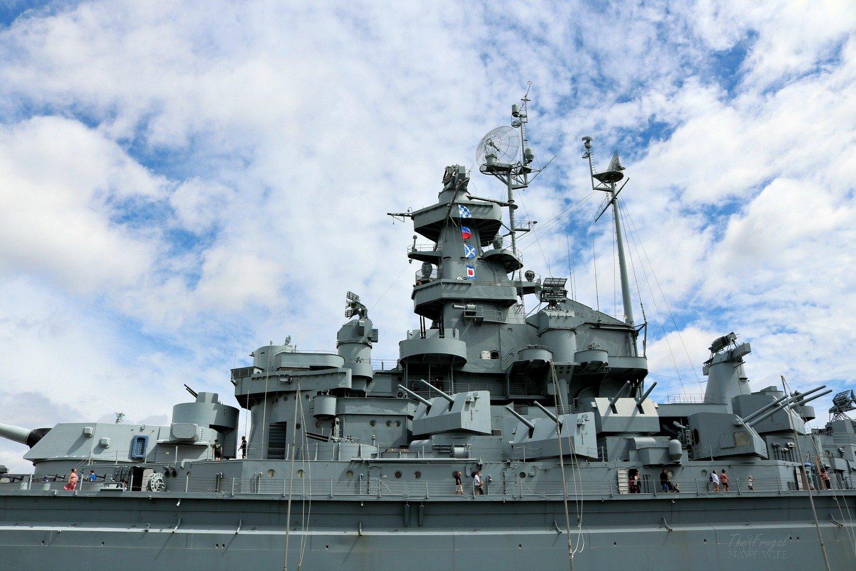 USS Alamama Battleship