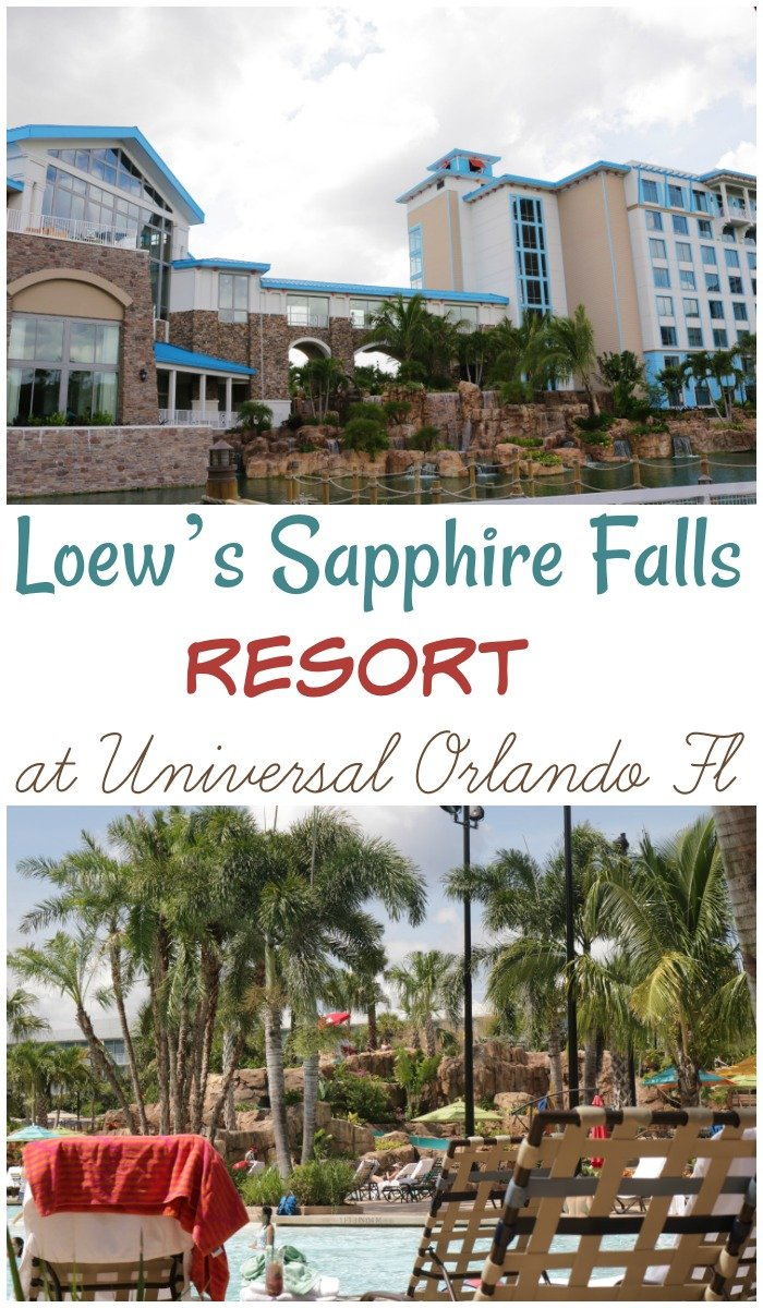 Want the details on Loew's Sapphire Falls Resort in Universal Orlando Florida? It's a relaxing tropical resort. See my why I love it here.....